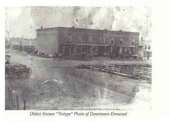 Elmwood downtown 1880